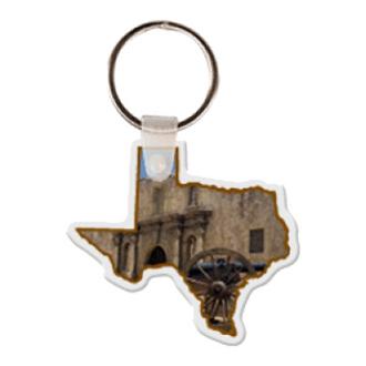Customized Texas Shape Key Tag