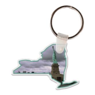 Customized New York Shape Key Tag