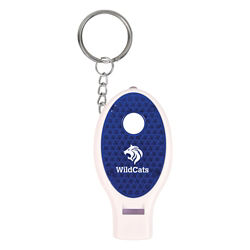 Customized Whistle Keychain with Light