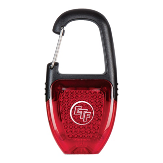 Customized Carabiner LED Reflector Key Light