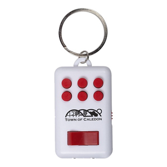 Customized Multi-Functional Fidget Key Chain & Flashlight
