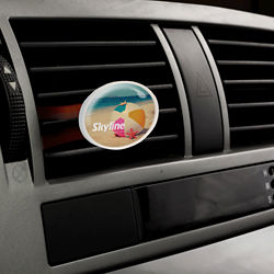 Customized Oval Vivid Vent™ Air Freshener