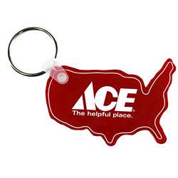 Customized USA Soft Key Fob