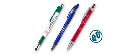 Custom Antimicrobial Pens