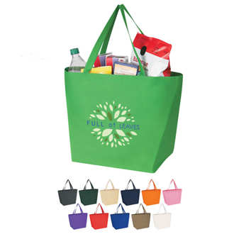 Customized Non Woven Budget Shopper Tote