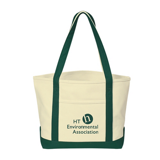 Customized Heavy Cotton Canvas Boat Tote