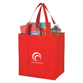 Customized Non Woven Avenue Shopper Tote