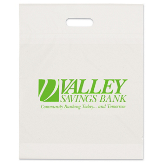 Customized Eco Die Cut Handle Bags - 15 x 19