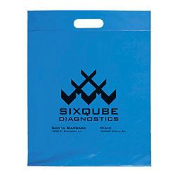 Customized Die Cut Handle Bag -15x19