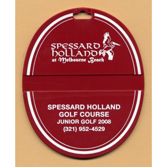 Customized Oval Custom Printed Bag Tags
