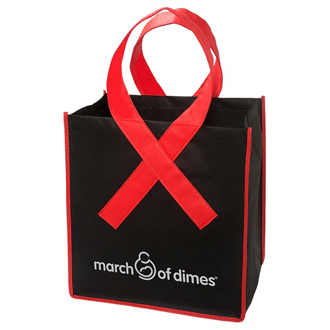 Customized Ribbon Grocery Shopper