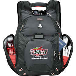Customized elleven™ Amped Checkpoint Friendly Compu-Backpack