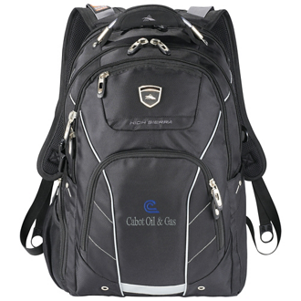 Customized High Sierra® Fly-By Compu-Backpack