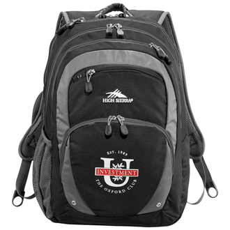Customized High Sierra® Overtime Fly By Compu-Backpack