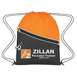 Customized Non-Woven Two-Tone Sports Pack