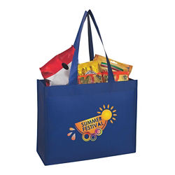 Customized Large Matte Laminated Non-Woven Shopper Tote