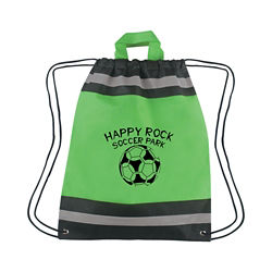 Customized Small Reflective Drawstring Backpack