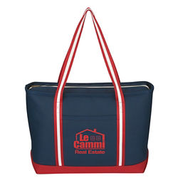 Customized Large Cotton Canvas Admiral Tote