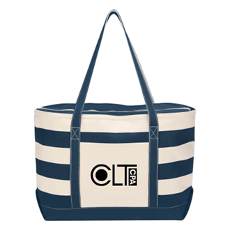 Customized Cotton Canvas Nautical Tote