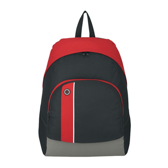 Customized Scholar Buddy Top Zip Adjustable Strap Backpack