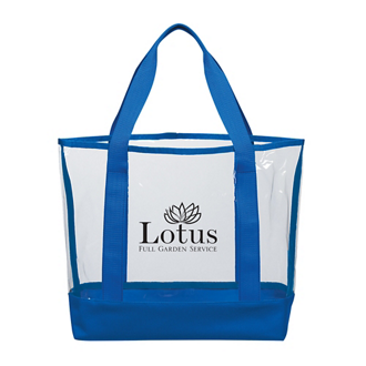 Customized Clear Casual Tote Bag