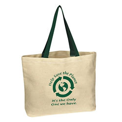 Customized Natural Cotton Canvas Tote Bag