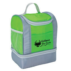 Customized Two-Tone Insulated Lunch Bag