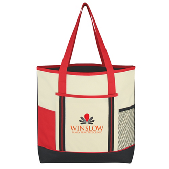 Customized Berkshire Tote Bag - Embroidered