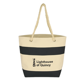Customized Cruising Tote with Rope Handles