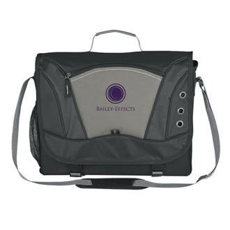 Customized Mega Messenger Bag - Embroidered