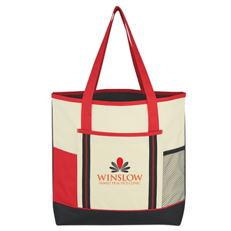 Customized Berkshire Tote Bag - Silk Screen