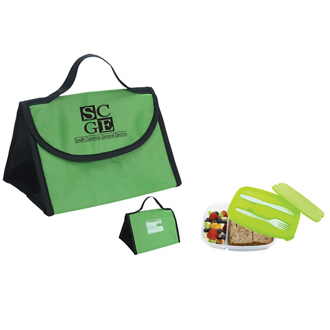 Customized Container and Lunch Bag Combo