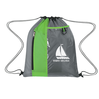 Customized Sports Pack with Clear Pocket