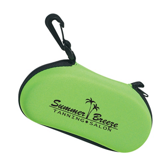 Customized Sunglass Case with Clip