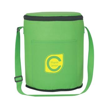 Customized Non-Woven Round Kooler Bag