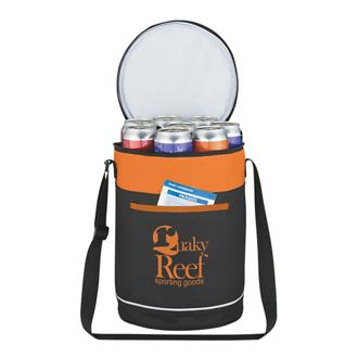 Customized Barrel Buddy Round Kooler Bag