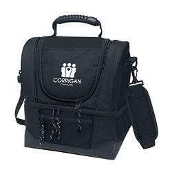 Customized Dual Compartment Kooler Bag