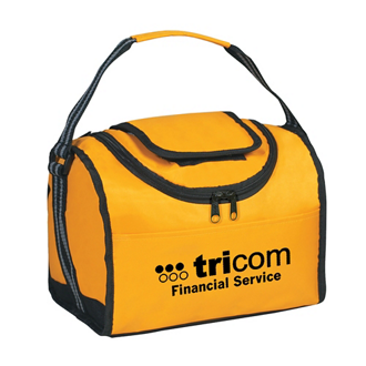 Customized Flip Flap Insulated Lunch Bag