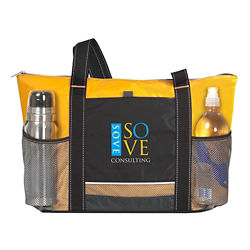 Customized Atchison® Icy Bright Cooler Tote