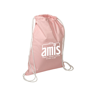 Customized Cotton String-A-Sling Backpack