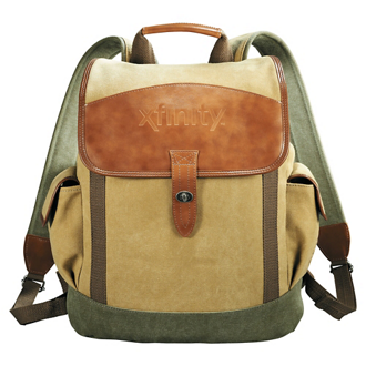 Customized Cutter & Buck® Legacy Cotton Rucksack Backpack