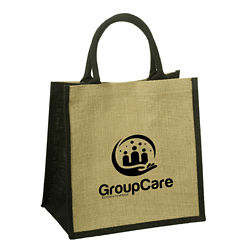 Customized Junior Jute Tote