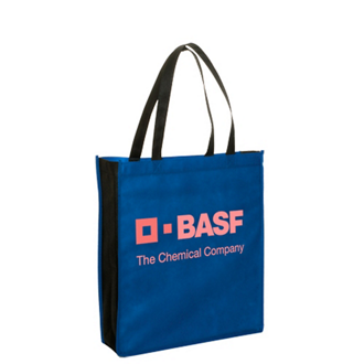 Customized Non-Woven Two-Tone Tote