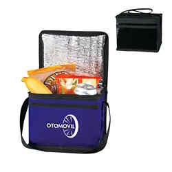 Customized Laminated Non-Woven Six Pack Kooler Bag