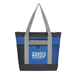 Customized Tri Color Tote
