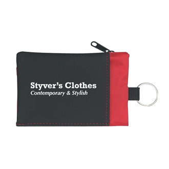 Customized Folding Wallet with Key Ring