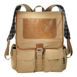 Customized Field & Co.® Cambridge Collection Compu-Backpack