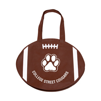 Customized RallyTotes™ Football Tote