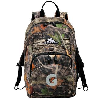 Customized High Sierra Impact King's Camo Backpack