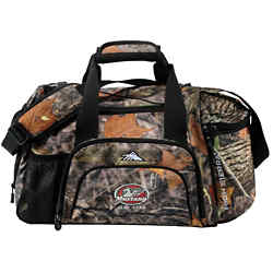 Customized High Sierra Switchblade King's Camo Duffel
